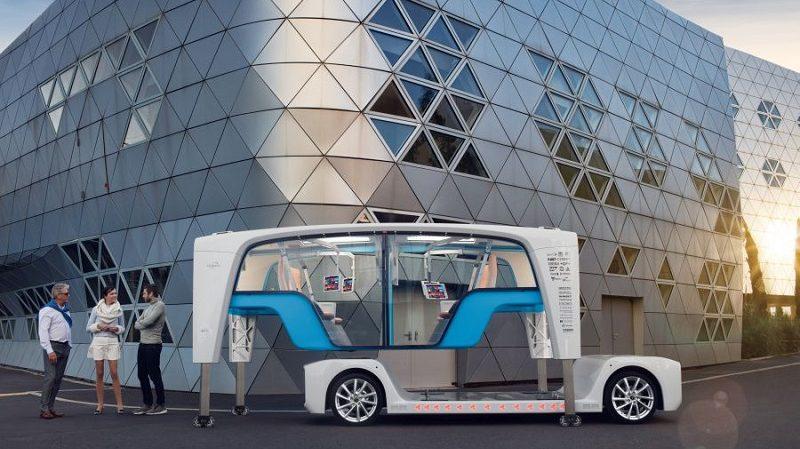 Snap Konzeptauto Rinspeed