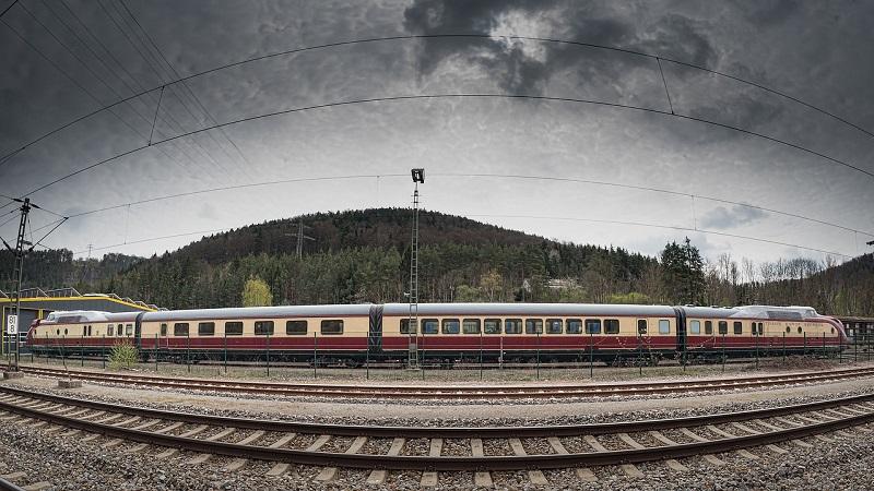 Zug Europa Landschaft