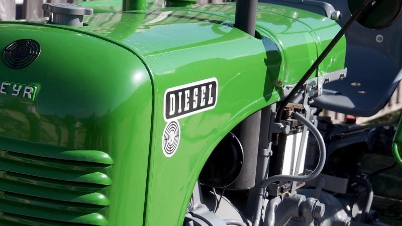 Traktor Diesel Emissionen
