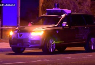 Autonomes Auto, Uber, Unfall