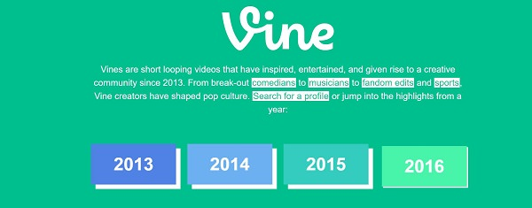 Vine, soziale Netzwerke