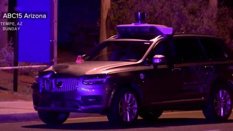 Uber Unfall Arizona