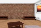 Rooom Raum mit Möbeln