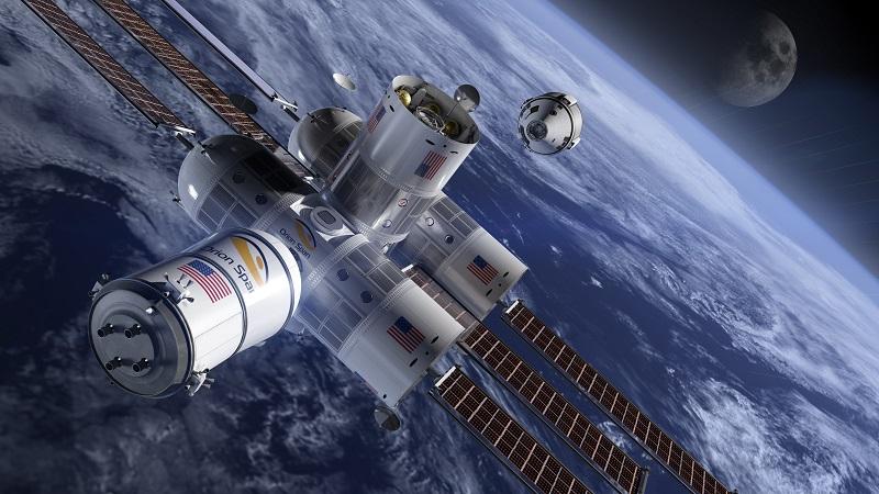 Aurora Station Orion Span Luxushotel Weltall