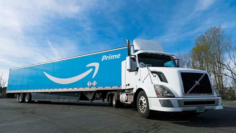 Amazon Prime, Amazon, Amazon Prime Truck
