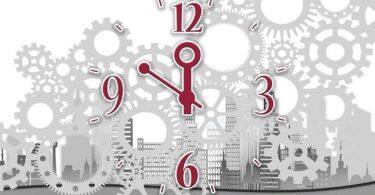 Uhr Zeit Zukunft Utopie
