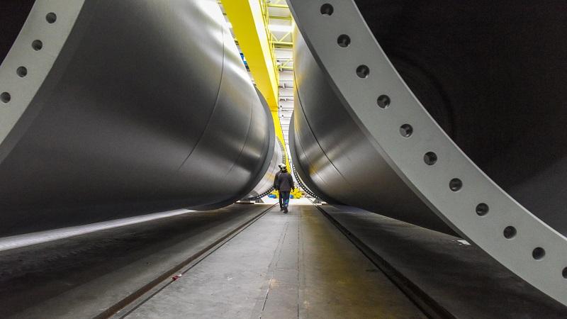 HyperloopTT Röhre Ausschnitt erste Hyperloop-Strecke
