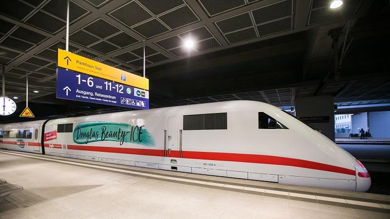 Beautyzug Deutsche Bahn Douglas