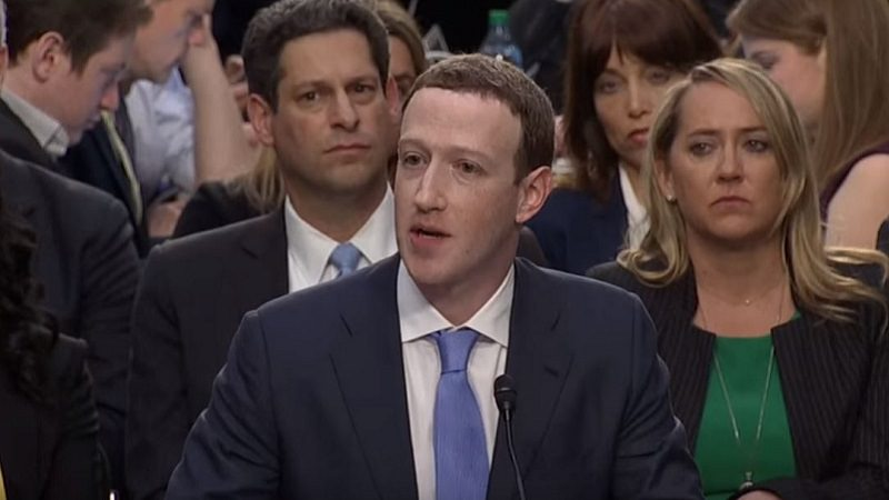 Mark Zuckerberg, US-Kongress, Datenskandale
