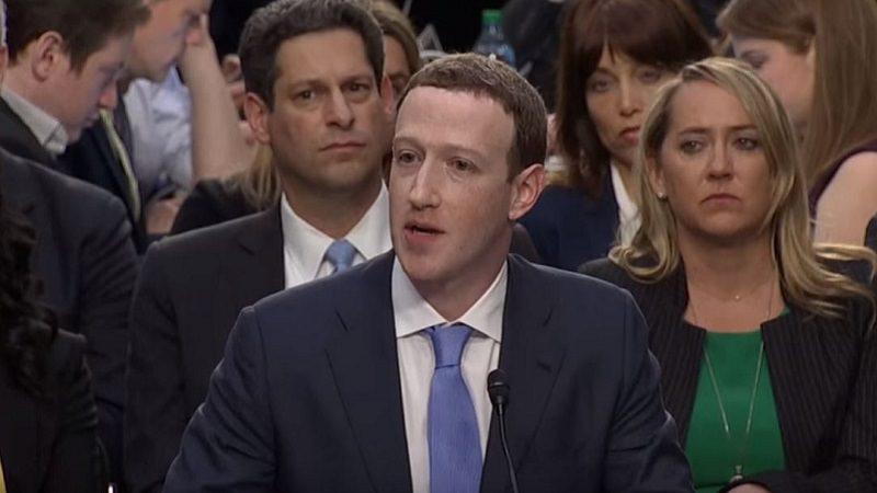Mark Zuckerberg, US-Kongress