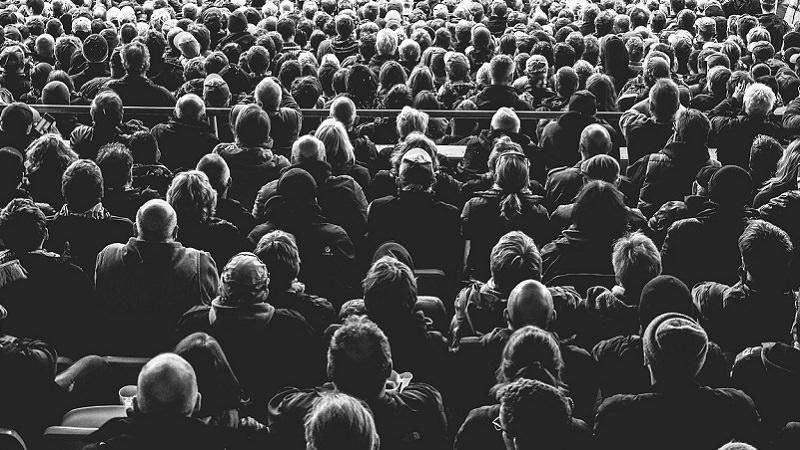 Menschen, Menschenmasse, Publikum, Crowd