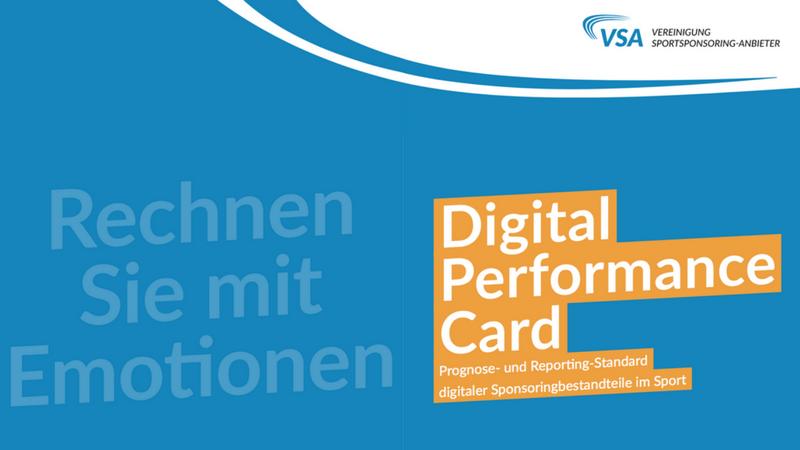 Transparentes Sportsponsoring dank Digital Performance Card?