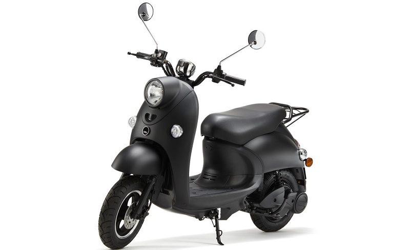Unu Scooter Frontalansicht