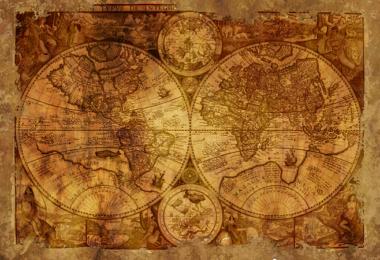 Weltkarte, Karte, Map, Roadmap, Influencer Marketing Map