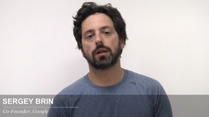 Sergey Brin, Google, Co-Founder