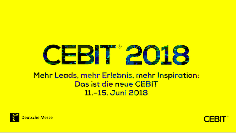 CEBIT 2018 Cover