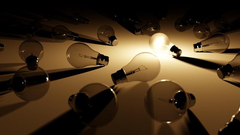 Glühbirne, Idee, Licht