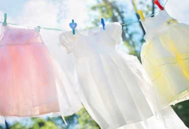 Kleidung, Kleid, Kleider, Wäscheleine, sauber, gewaschen, Video-Werbung