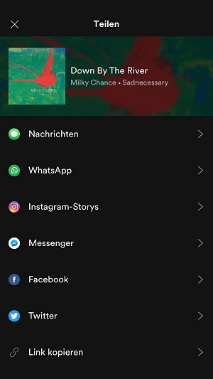 Spotify, Spotify-Songs, Instagram Stories