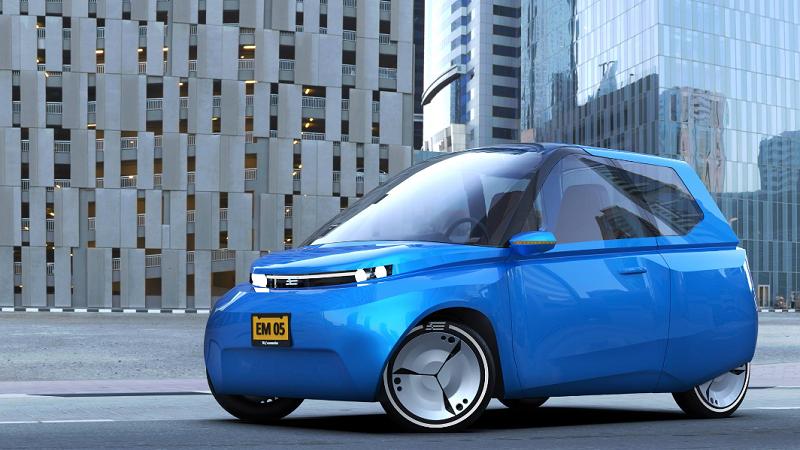 Noah Ecomotive 2017 kompostierbares Elektroauto