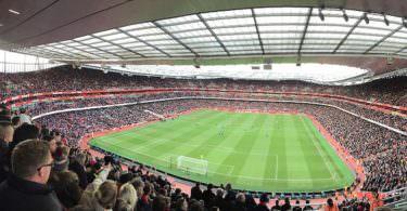 Arsenal London, Emirates Stadium, sichtbarste Marke