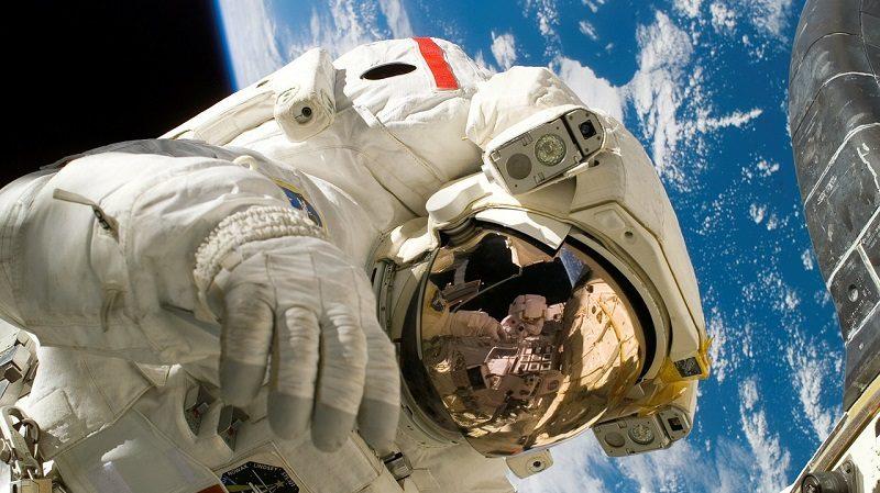 Weltraum Astronaut