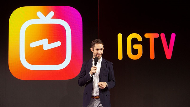 Kevin Systrom, Instagram, Instagram TV, IGTV