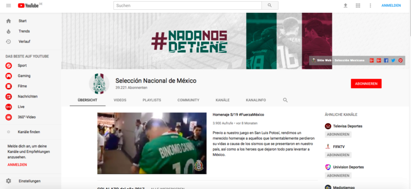 Mexico, Fußball, WM, Nationalteam, Russland, YouTube, Fans