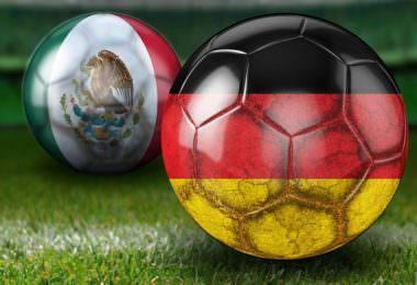Fußball-Weltmeisterschaft, WM 2018, Deutschland gegen Mexiko, #GERMEX