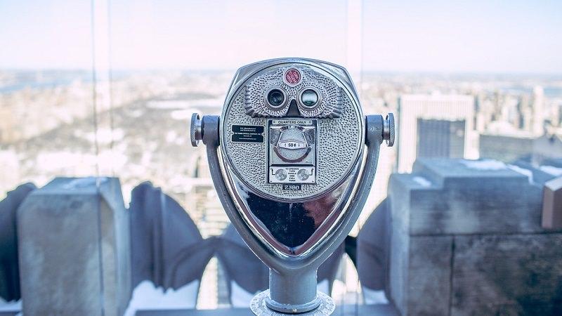 Fernglas, Ausblick, Teleskop, Zukunft Digitalisierung