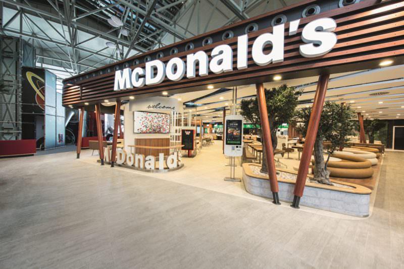 McDonalds, Schnellimbiss