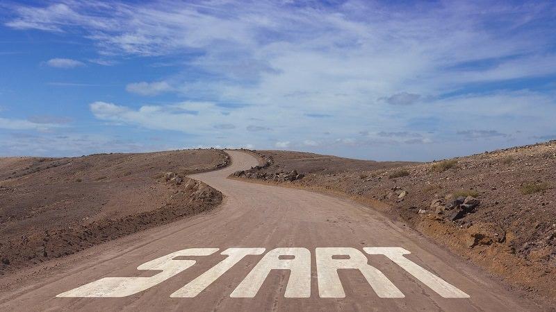 Start, Beginn, Startschuss, anfangen