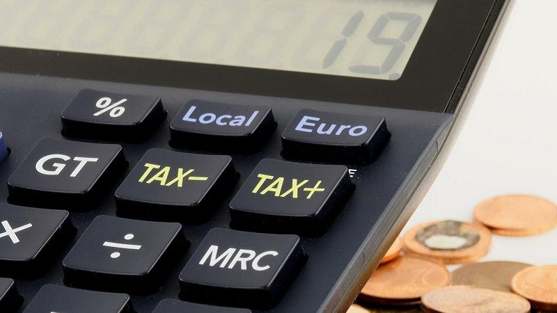 Taschenrechner, Geld, Münzen, Geschäftsmodell