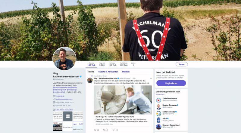 Jörg Kachelmann Twitter, erfolgreichste Manager