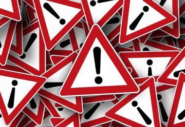 Ausrufezeichen, Warnung, Vorsicht, Gefahr, Aufmerksamkeit, Isabelle Szmigin