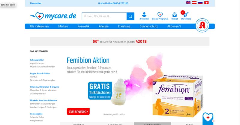 mycare Online Apotheke