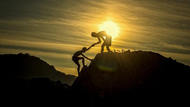 Hilfe, Partner, Unterstützer, Unterstützung