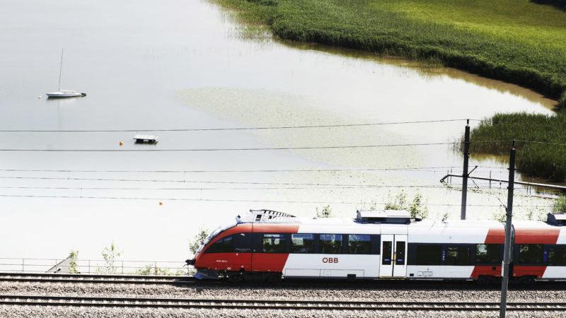 ÖBB Zug Bahn Landschaft