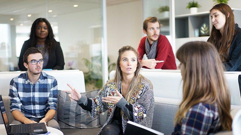 Team. Gründer, Besprechung, Meeting