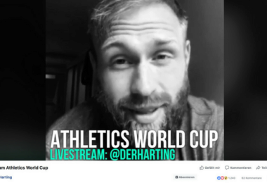 Robert Harting überträgt Athletics World Cup auf Facebook Live
