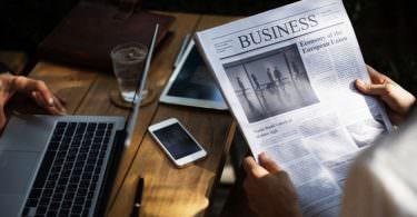 Zeitung, Laptop, Smartphone, Business, Kostenlos-Kultur