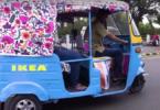 IKEA Indien Elektro-Rikscha
