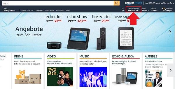 Amazon, Amazon Prime, Amazon Prime kündigen, Prime Abo kündigen