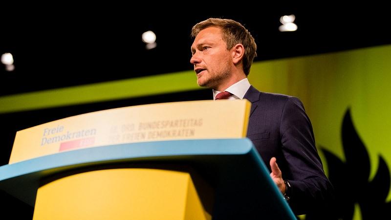 Christian Lindner, FDP, Freie Demokraten, DIgitalisierung