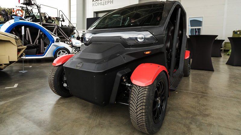 Elektroauto für Zivilisten Kalaschnikow