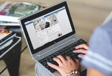 Facebook, Laptop, Facebook-Seite, Fanpage, Seitenbetreiber