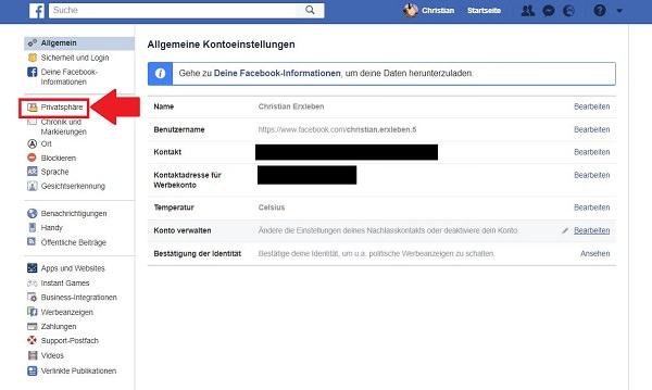 Facebook, Facebook-Profil, Facebook-Profil aus Google löschen, Facebook-Profil Google löschen, Facebook-Profil Google entfernen