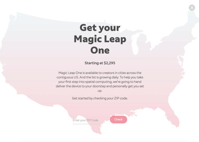 USA, Magic Leap, Karte