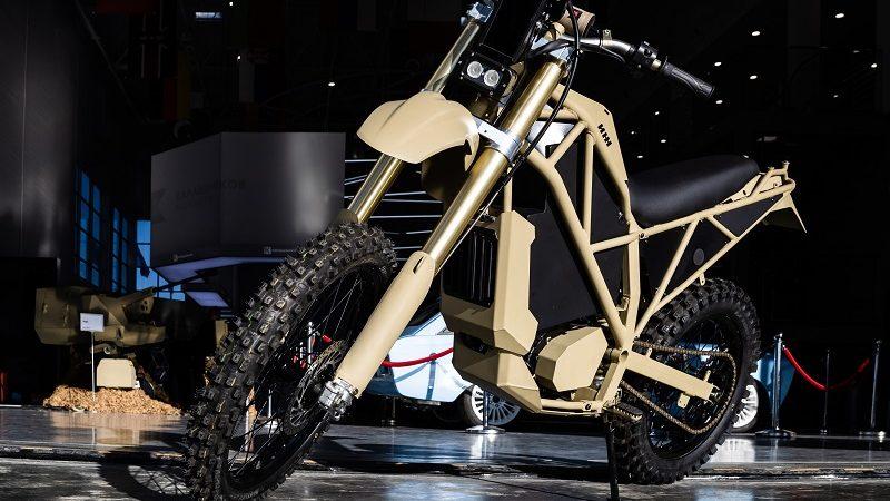 elektrisches Motorrad Kalaschnikow