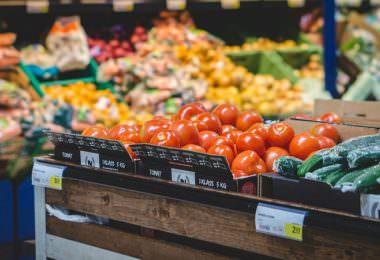 Obst, Gemüse, Früchte, Supermarkt, Karma